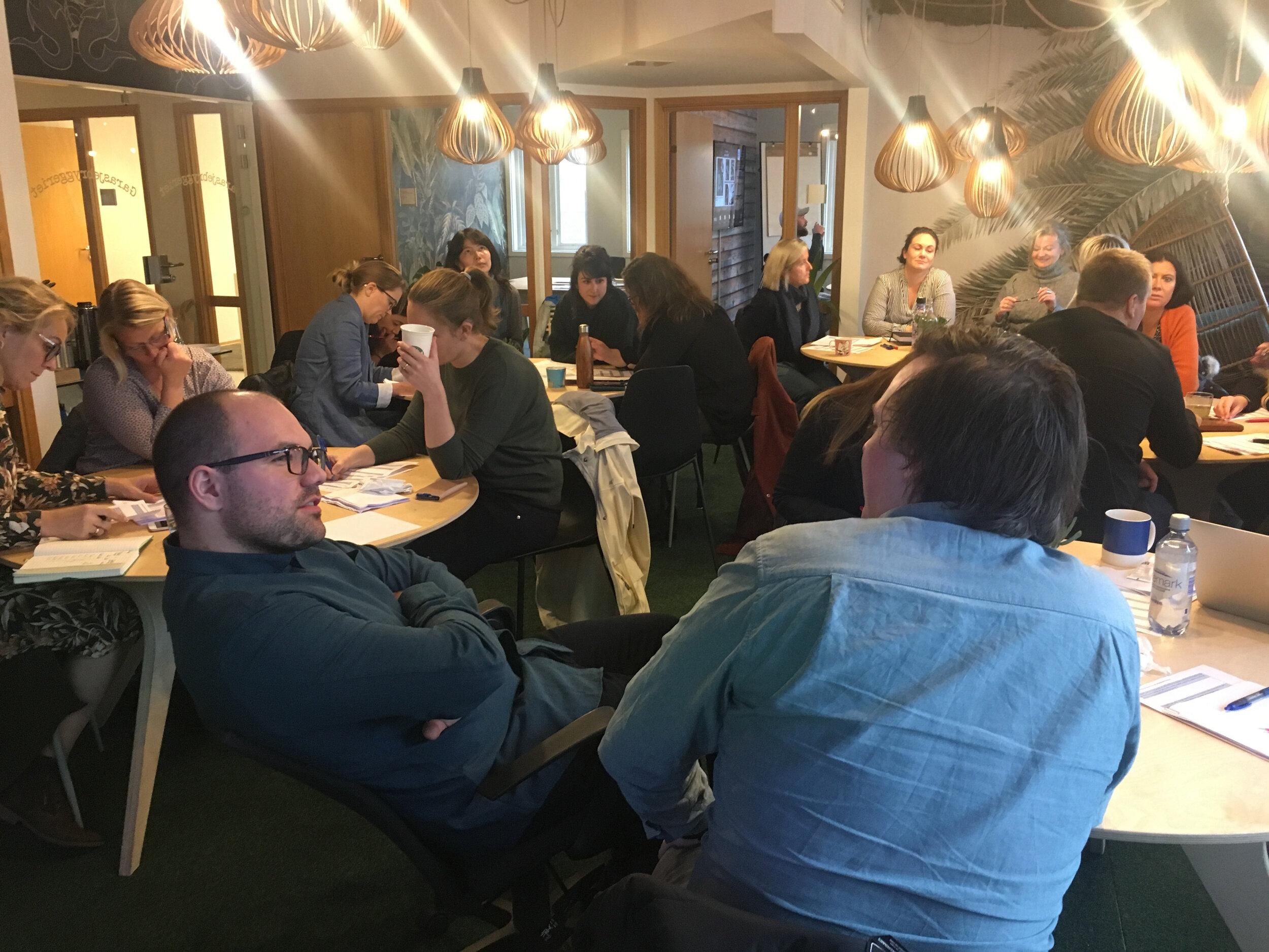 Deltakere under Vekst Lab Haugalandet