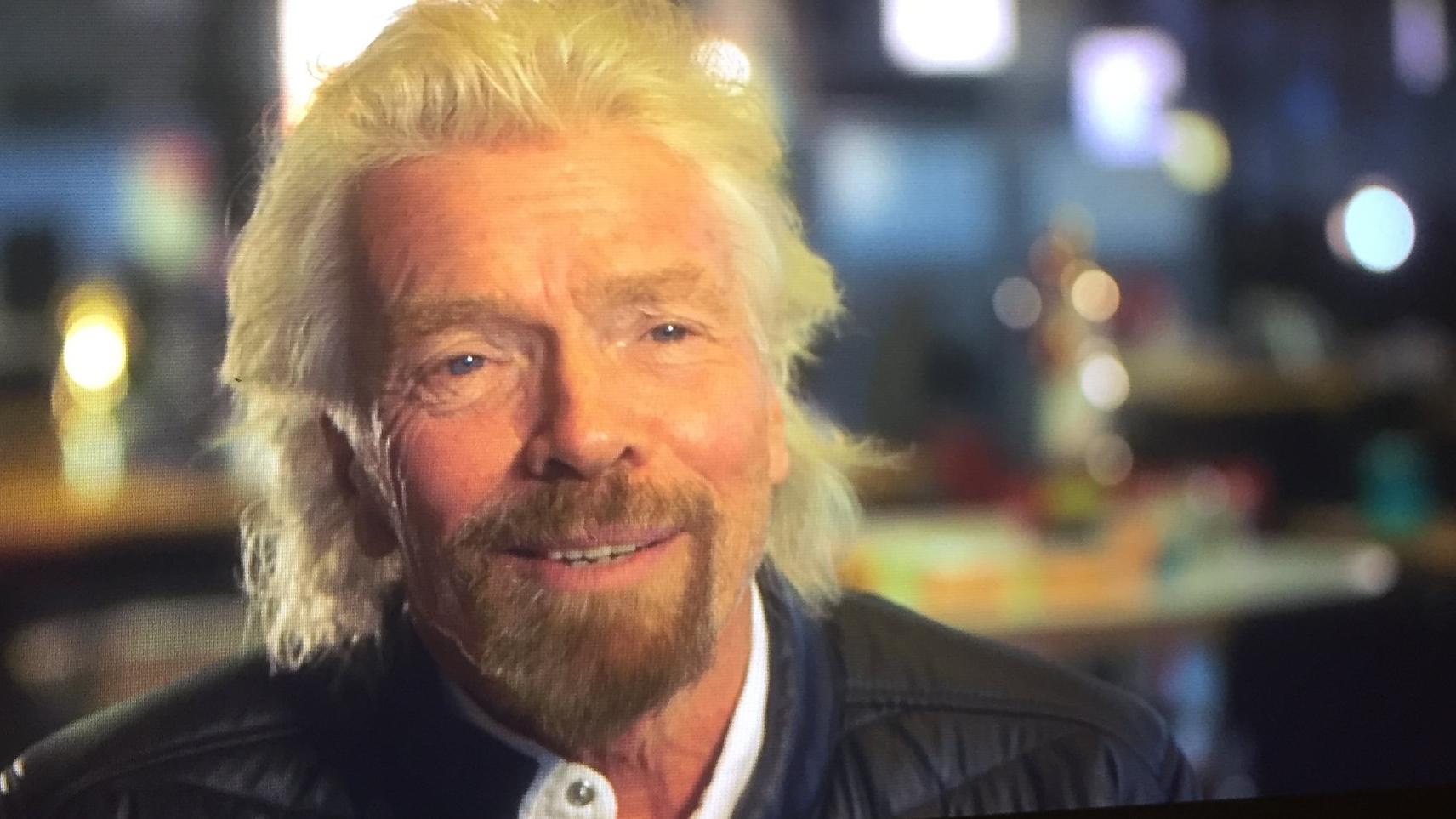 Sir Richard Branson - Piers Morgans's Life Stories