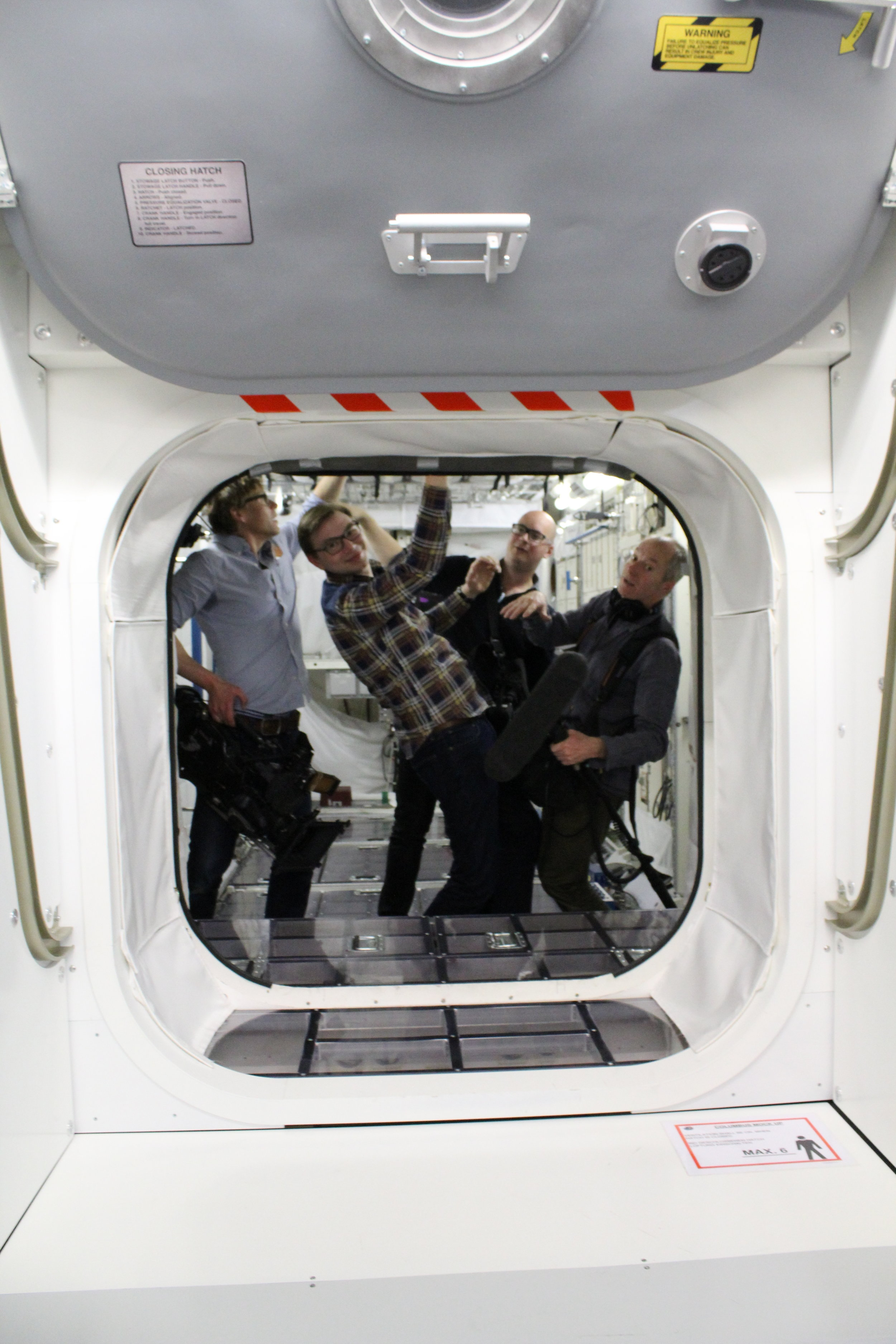 Practicing Zero Gravity - At The European Astronaut Centre - Cologne
