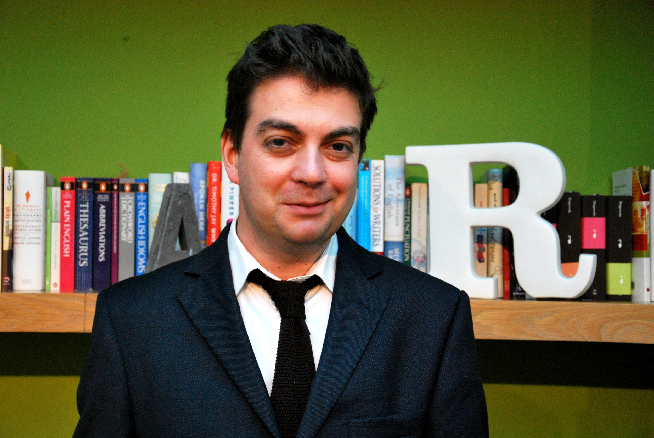 Writing consultant Nick Parker
