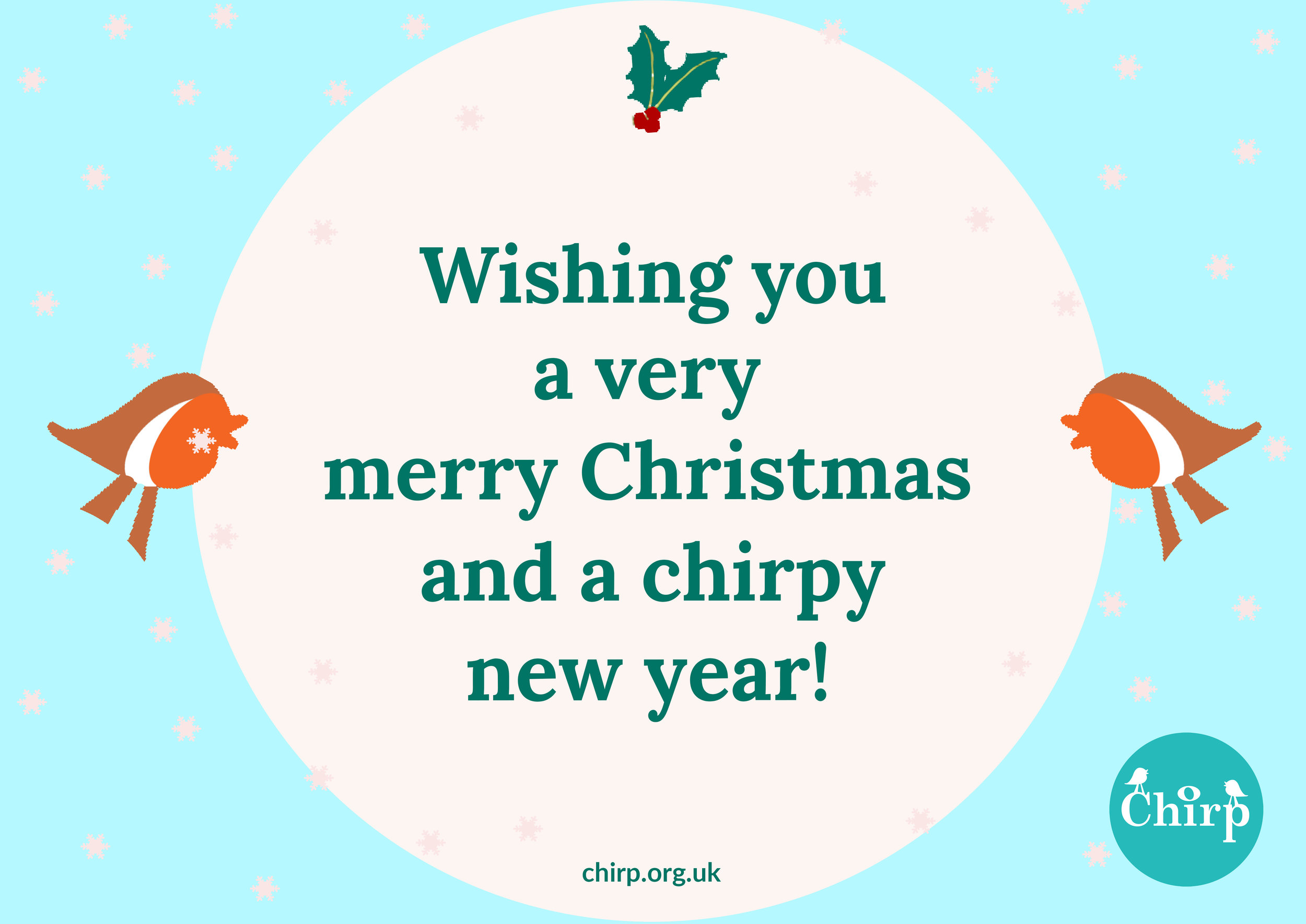 Merry Christmas from Chirp