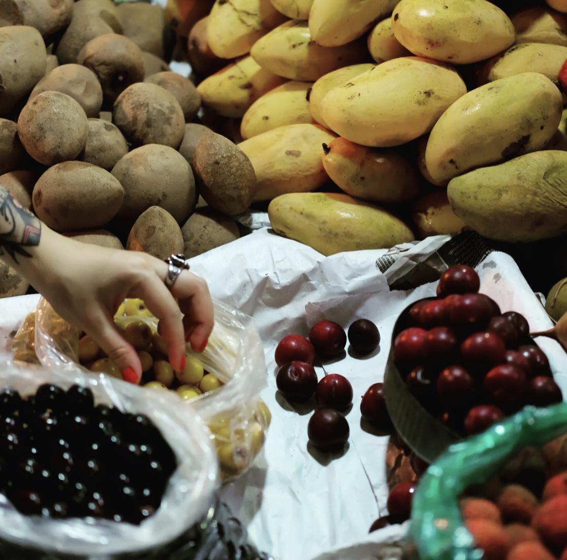 mexico city fruits