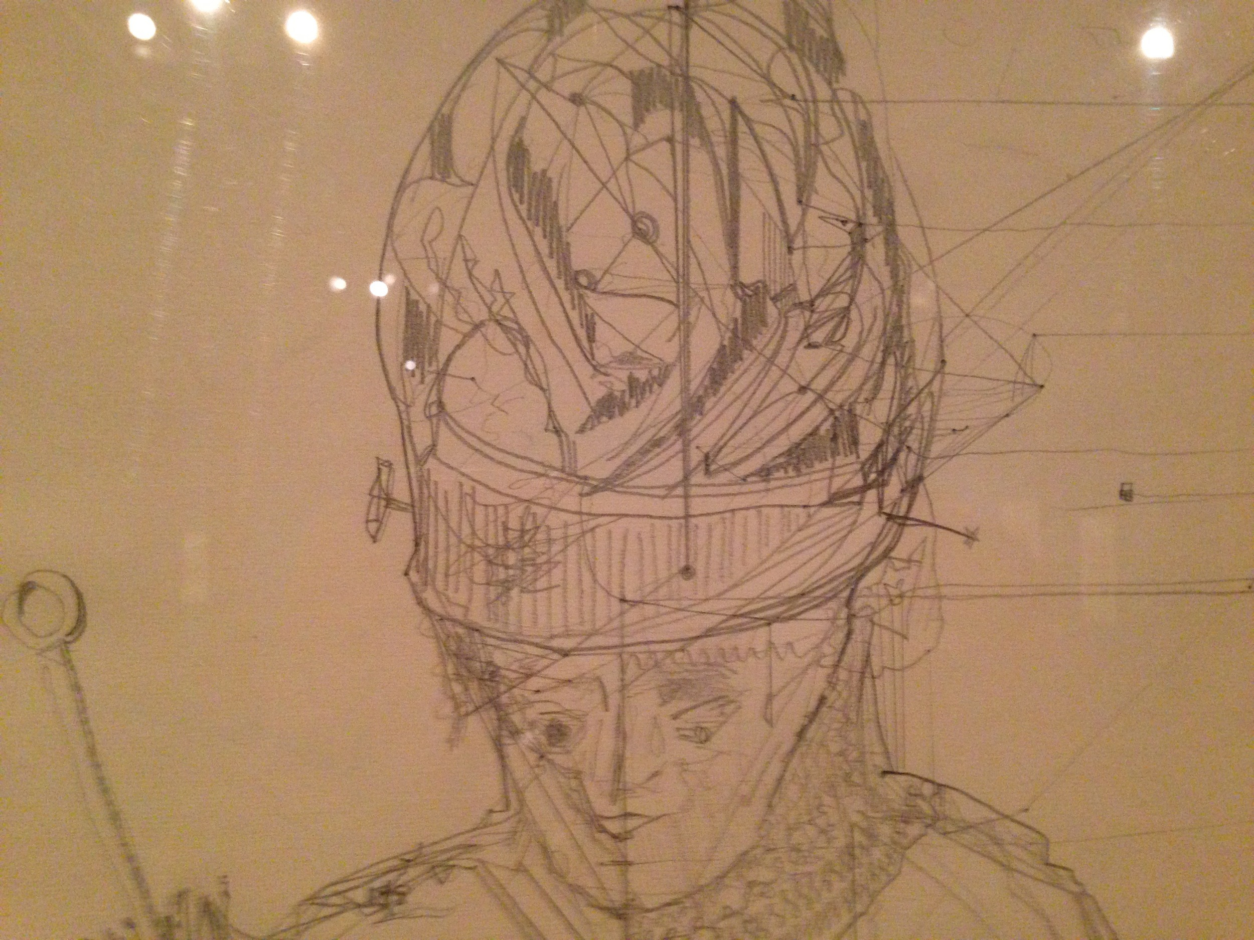 Zeichnung. Prinzhorn Sammlung.