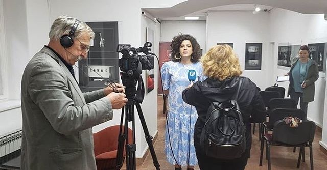 press conference for ZVRK - Contemporary Interdisciplinary Art Festival. I read Mak Dizdar and spoke about my research, the ethnography / the #indigenous Bosnia & Herzegovina challenging the concept of nation making and normative historical paradigm! #futuremaking #movingbeyondnationalism #bosniaherzegovina #performance #history #future #body #geography #socialstructctures #noborders #indigeneity