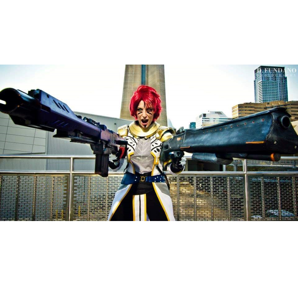 """Getting Started with Armour and Prop Making"" Requip Cosplay"