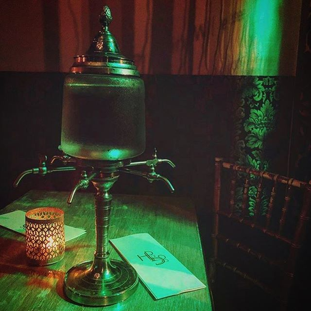 Happy Friday! Come kick off the official beginning of your weekend with us. Green light shines at 8pm. #repost @madisonrheafarren #notjustabsinthe #thingstodoinnashville #eaternashville #absinthe #nashvillecocktailbar
