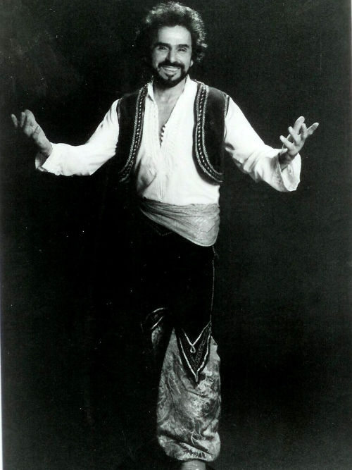 Pioneering Belly Dance Teacher Bert Balladine