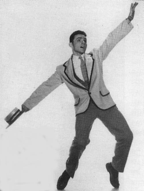 A young Bert Balladine. Photo Credit:  Best of Habibi  Magazine