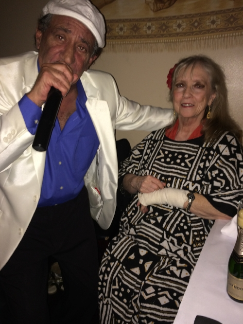 Sensational singer Khalil Abboud and Leyla Lanty at Tannourine in San Mateo