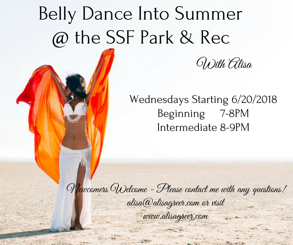 Belly Dance Classes in South San Francisco!
