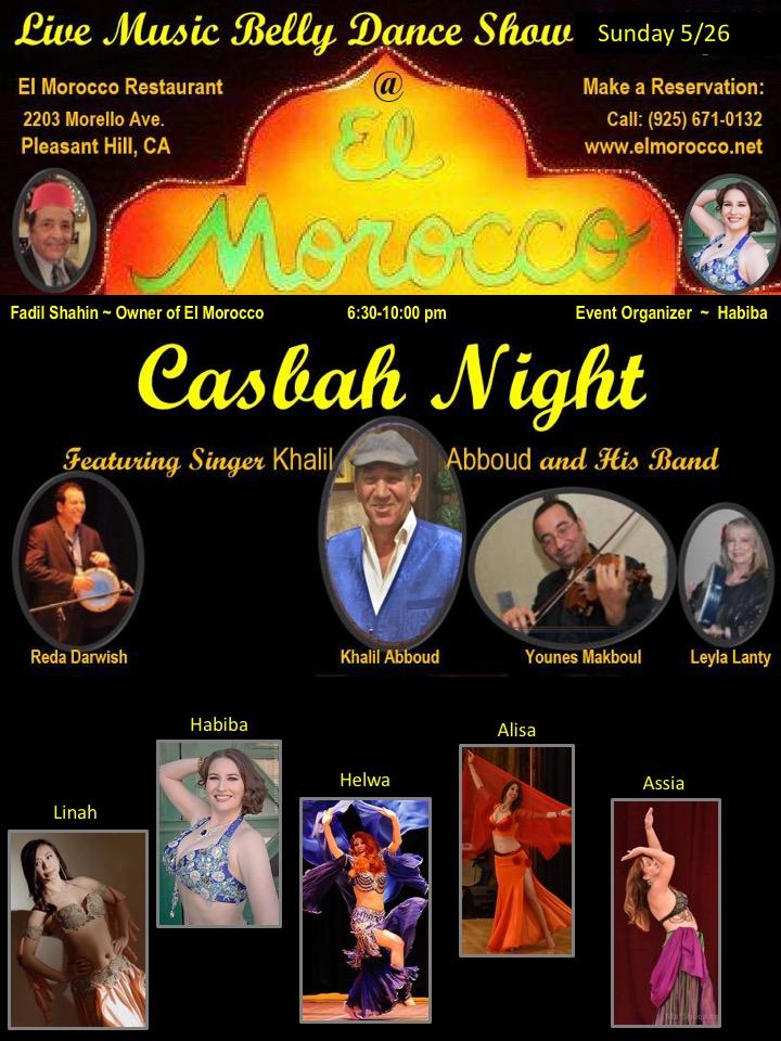 Casbah Night at El Morocco!