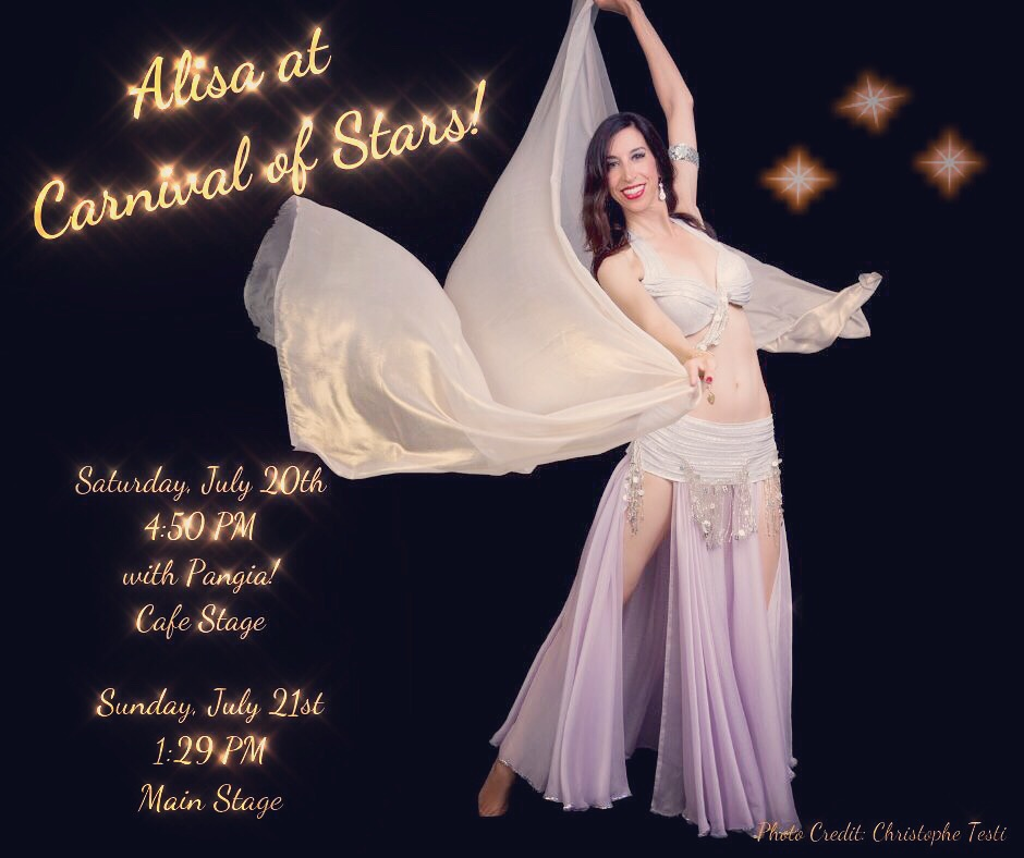 Alisa will be performing at Carnival of Stars!