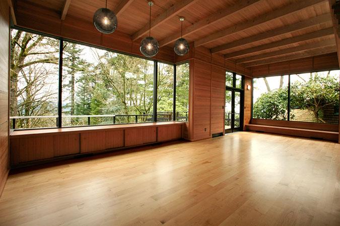 Portland John Storrs Remodel Living Room