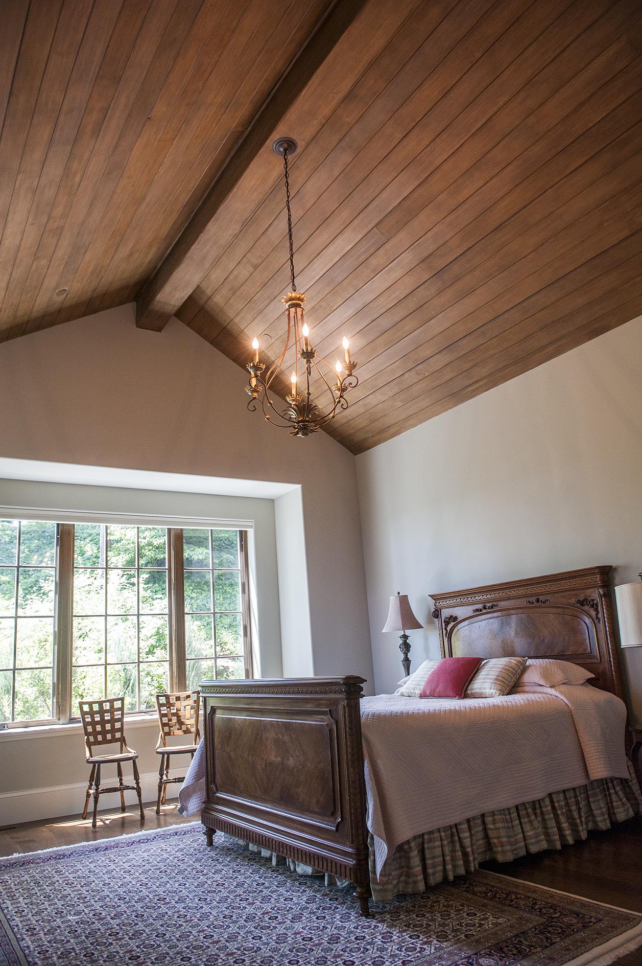 Lake Oswego Custom Home Bedroom