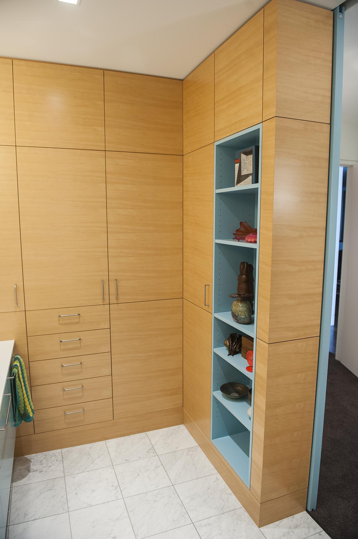 Portland Contemporary Remodel Bathroom Cabinets