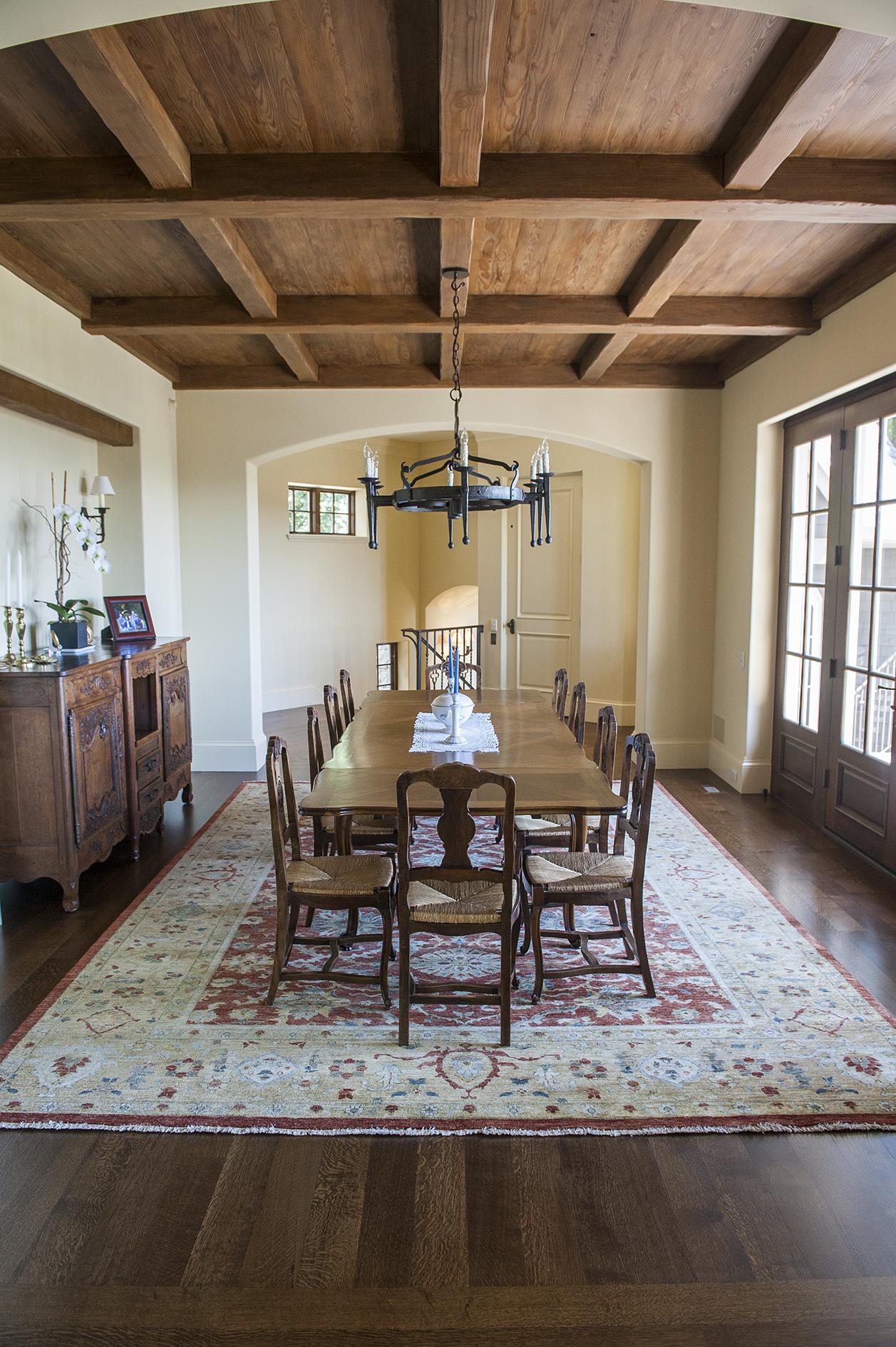 Lake Oswego Custom Home Dining Room