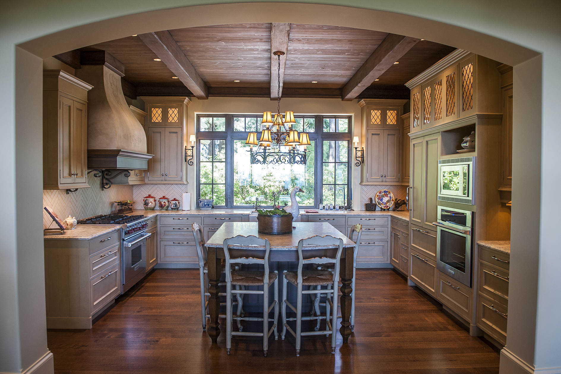 Lake Oswego Custom Home Kitchen