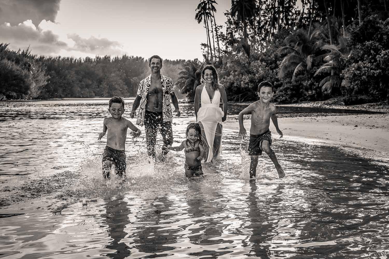 family shoot on holidays