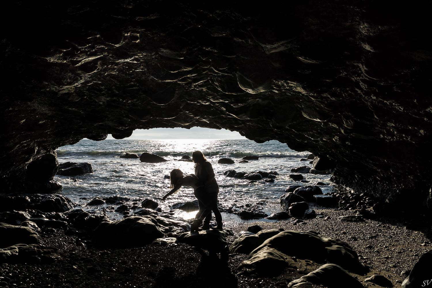 Adventure session with a Canadian couple from Port Renfrew to Sooke