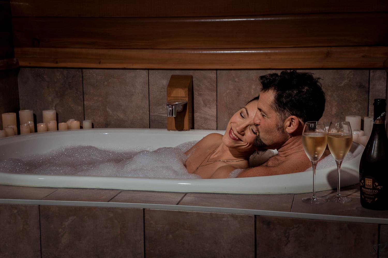 Boudoir on the bath