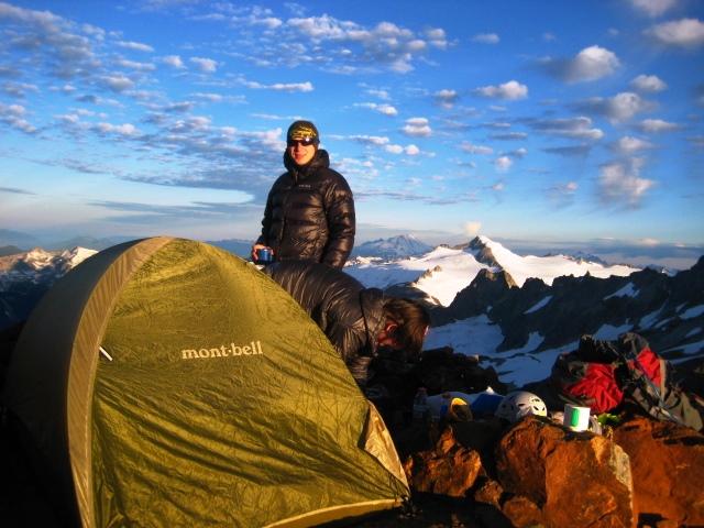 Sahale Mtn. High Camp