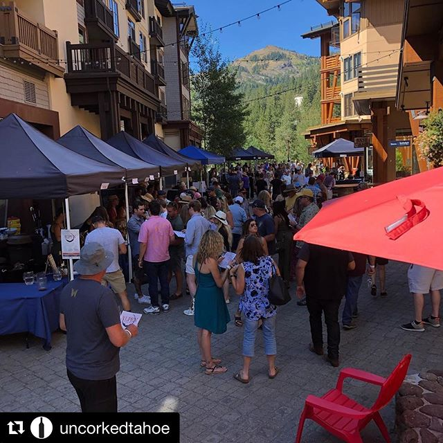 Thank you to @uncorkedtahoe and @squawalpine for hosting this great event, we love participating year after year! ———— #Repost @uncorkedtahoe ・・・ So proud and honored to part of Alpen Fest that generates funds for @candomultiplesclerosis ✊✊✊. A big thank you to all the participating wineries that attended and donated 🙏. #candoms #wineevents #donateforagoodcause #wineindustry #tahoe #tahoelivin #squawvalley #alpenfest #community