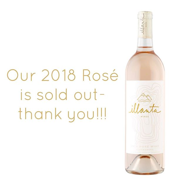 Wow. We are humbled and grateful by how well received our Rosé was, our quickest sell-out yet! Time to enjoy those falls flavors of Chardonnay and Zinfandel! ☺️ Special thanks to @uncorkedtahoe @tahoesailingcharters and @platterfare for your support!