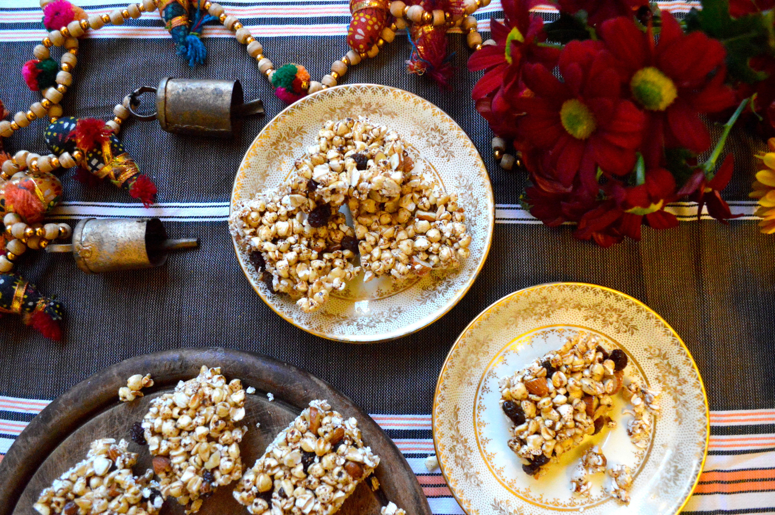 buckwheat bars, healthy, onelifetwoways, south indian, vegan, recipe