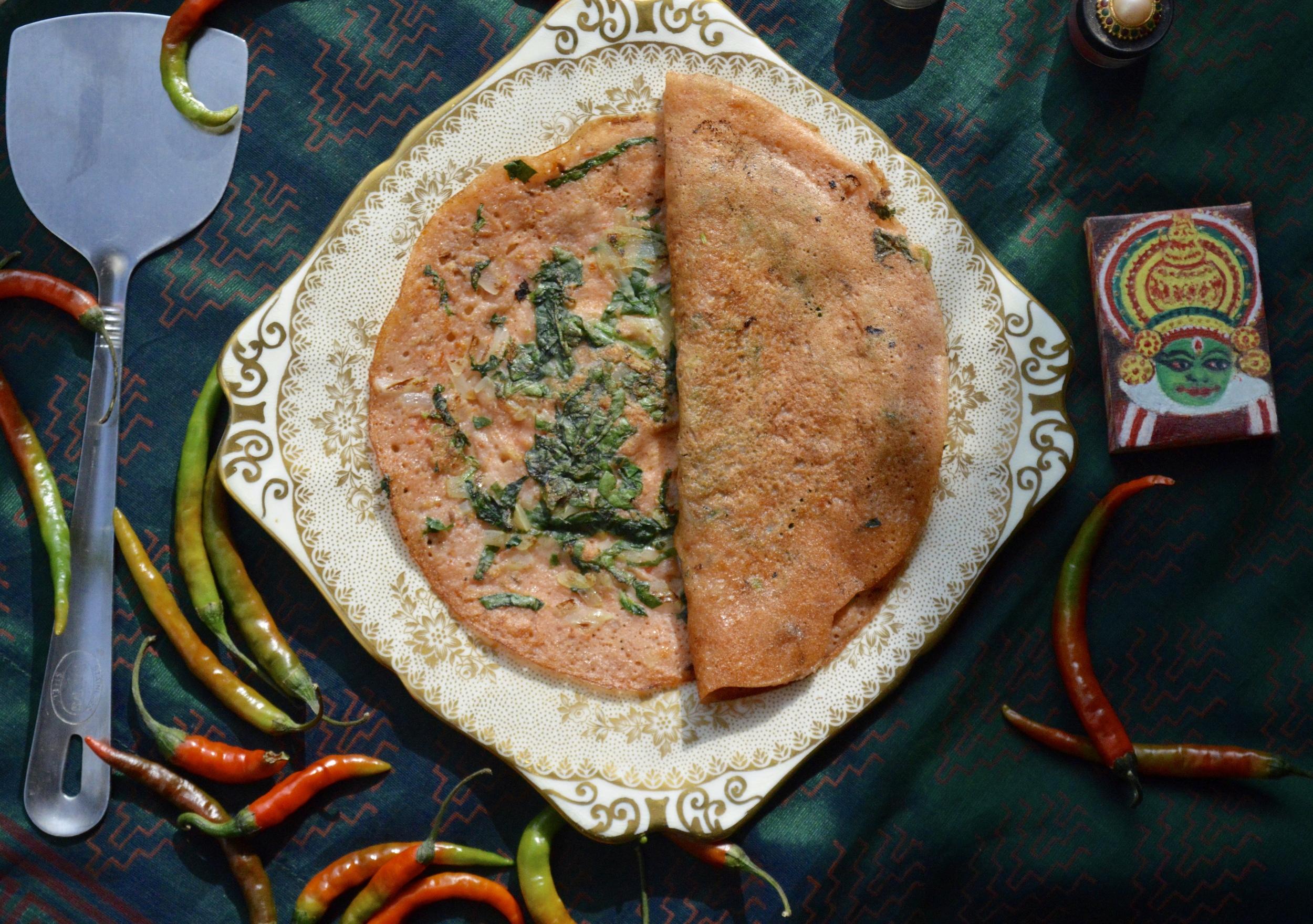 tomato dosa, onelifetwoways, vegan, south indian food blog
