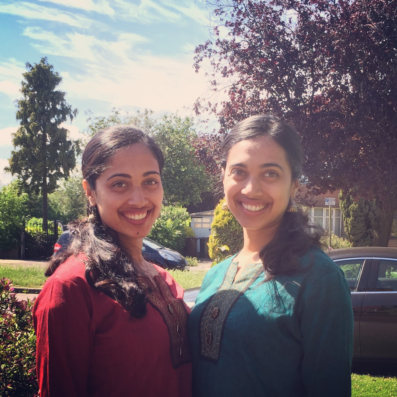 Twins, Nikki & Neeru, Onelifetwoways, South Indian, vegan