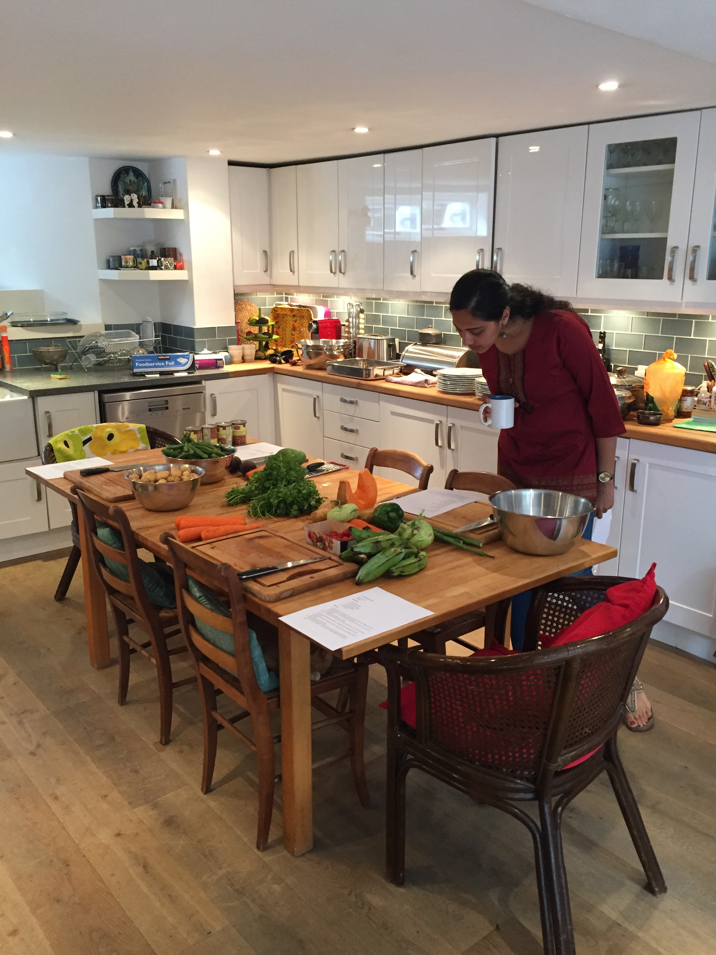 Neeru, South Indian Cooking Class, onelifetwoways, south indian, vegan, healthy