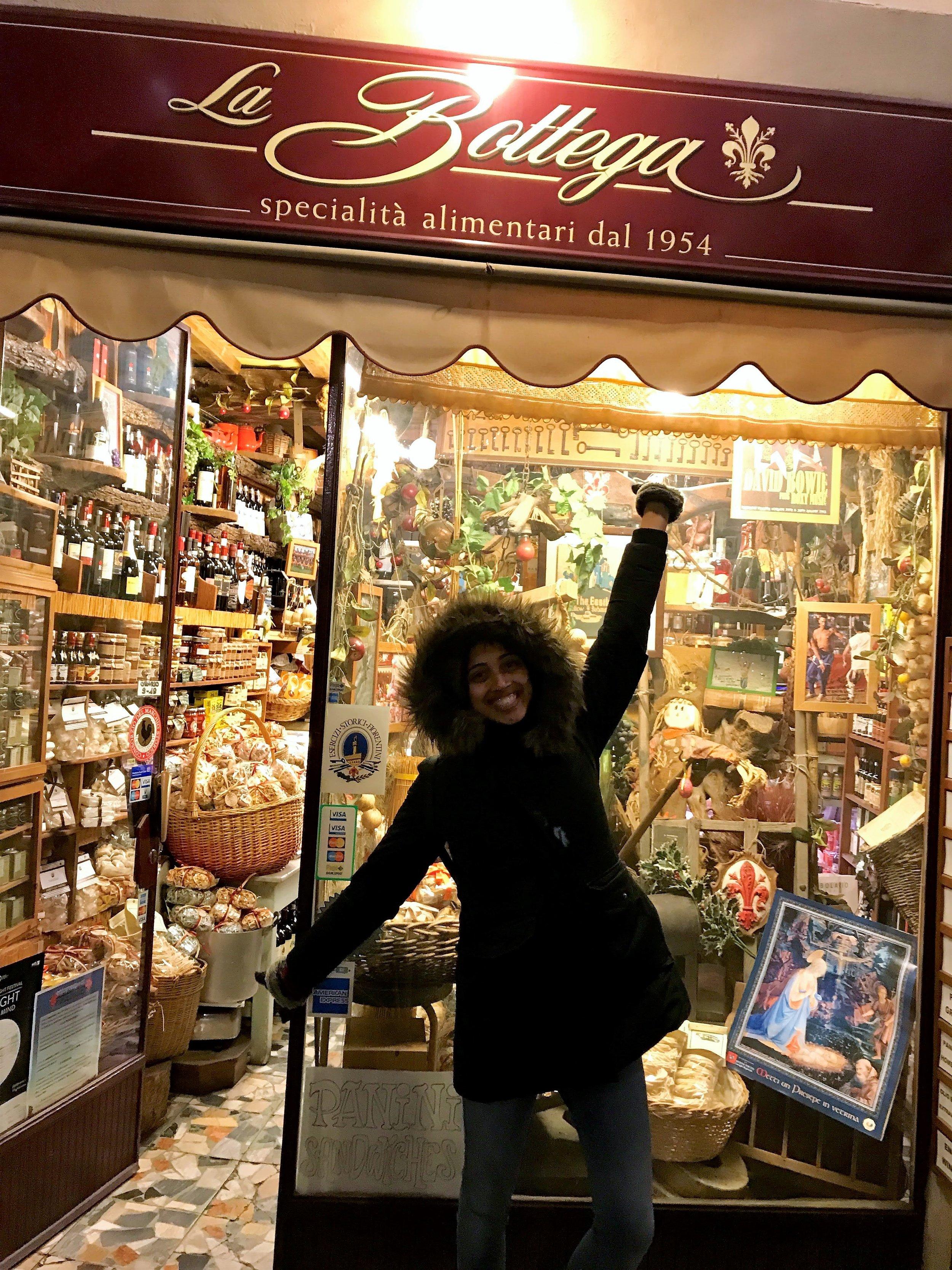 Excited to find vegan biscotti!