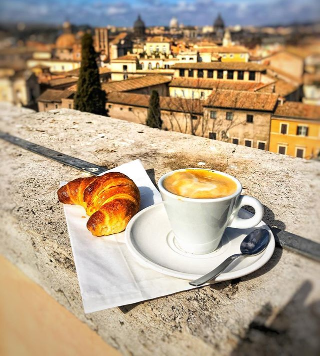 ROME Day 3: Enjoying a soy cappuccino and a vegan croissant on the roof terrace of the Capitoline Museum! 🥐 SO excited to find that they also had vegan @magnum ice cream!🍦Really pleasantly surprised at how vegan food is popping up in the most unexpected places! 😊@museiincomuneroma #rome #italy #veganrome #eataly #onelifetwoways #twins #vegan #vegansofig #feedfeedvegan #veganfoodshare #foodblog #indian #recipe #veganrecipe #instafood #instagood #fb #vegansofldn #foodie #huffposttaste #veganworldshare #veganfoodspot #LetsCookVegan #vegantravel #happycow