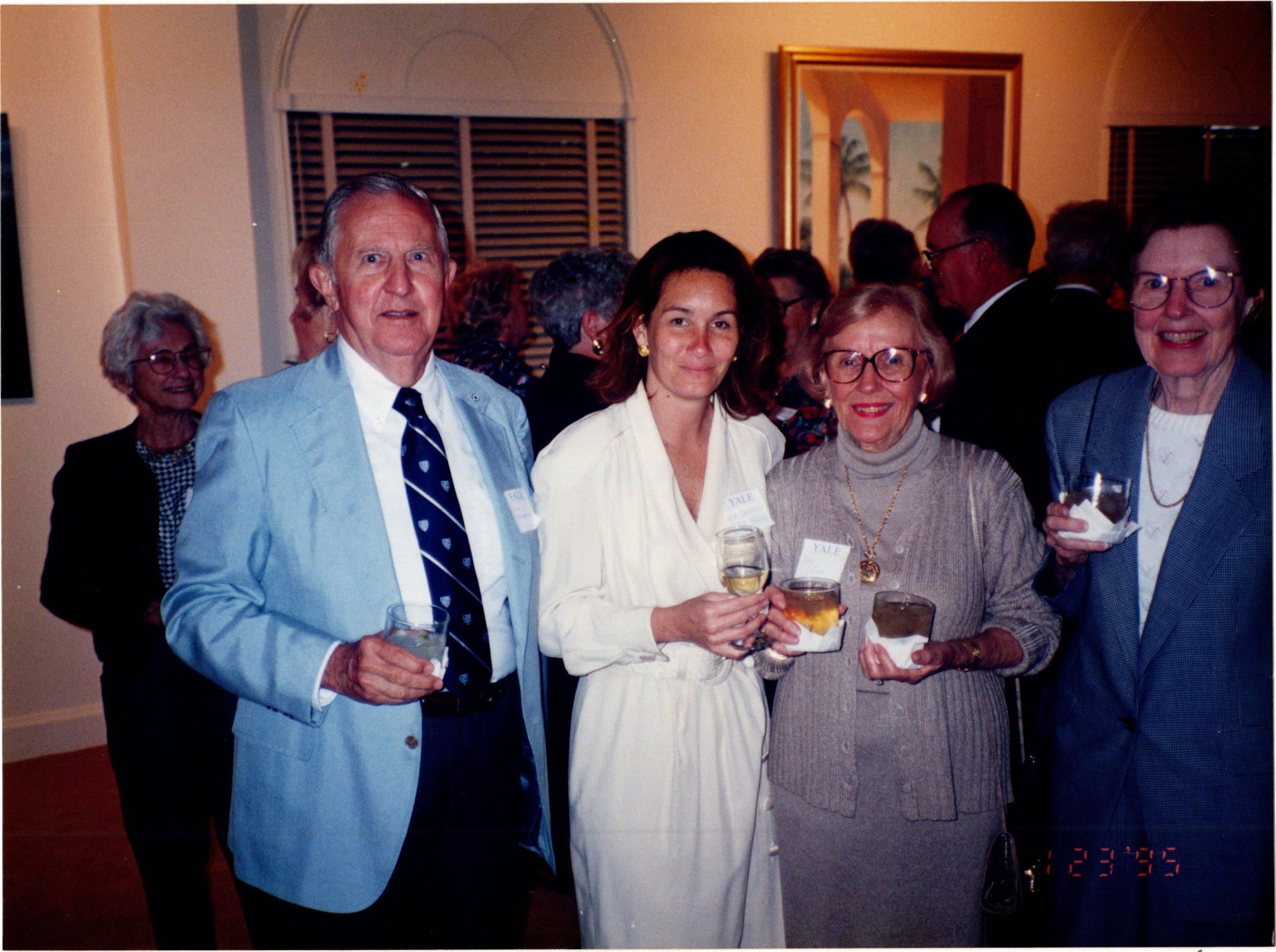 JOHN HELMSDERFER '43, LISA BALDWIN, ANN HELMSDERFER
