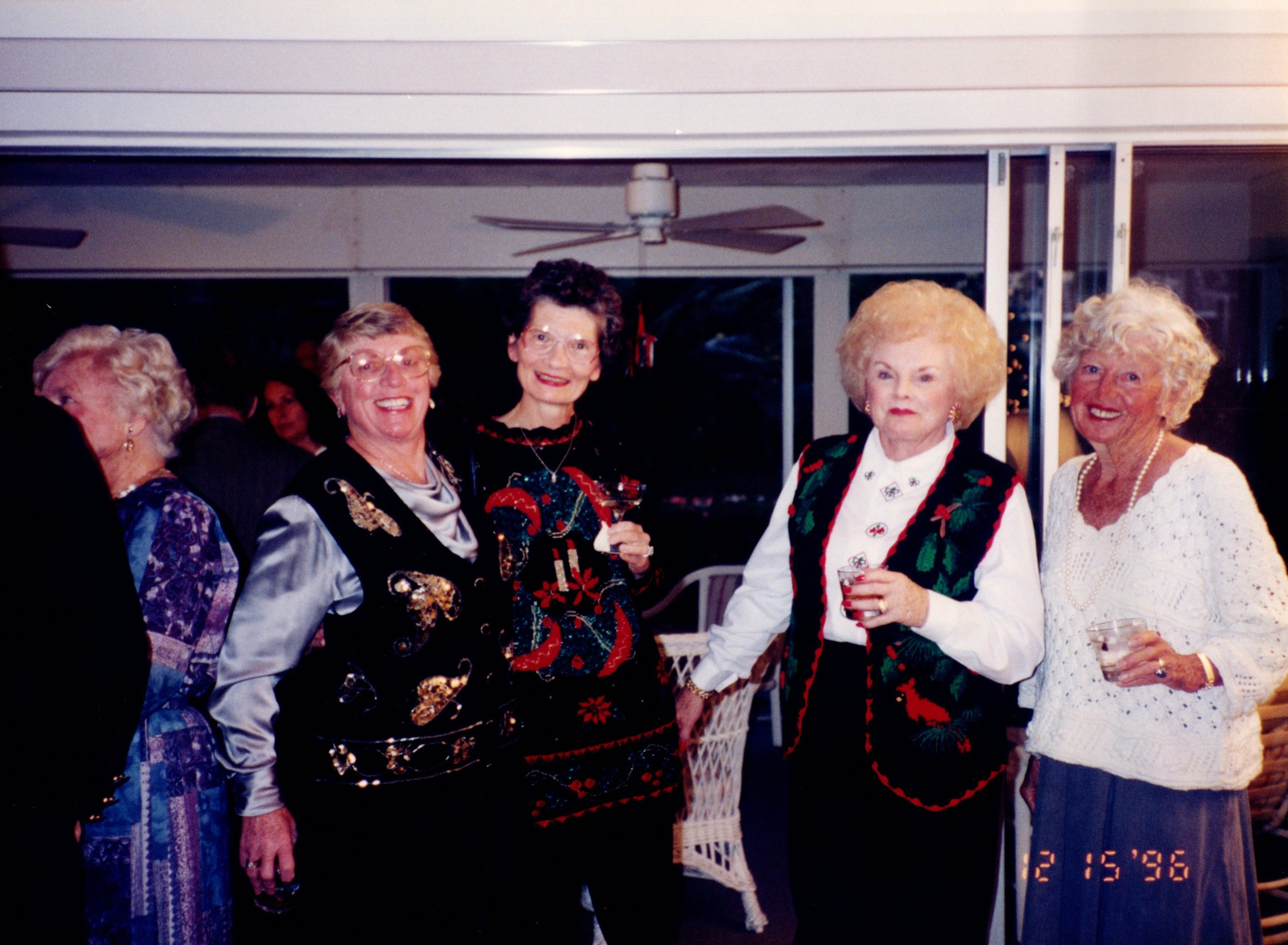 DORRIS MACKELFRESH, JOAN ISBELL, BERTHA BENNETT, NANCY JONES