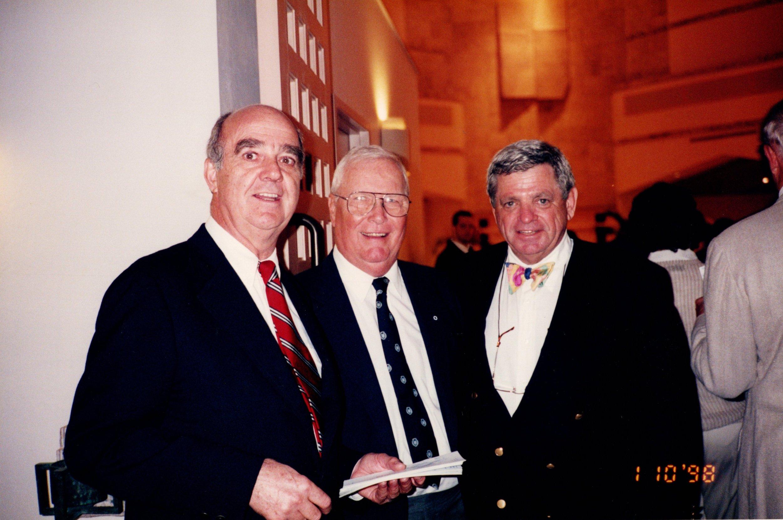 BOB WENZEL '53E, TOM MACKLEFRESH '51, ARNOLD GARFINKEL '62MA