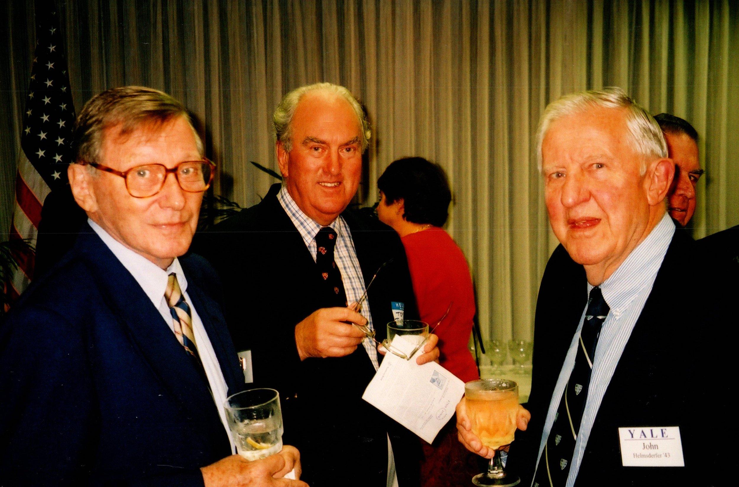 HERB SLEEPER, TOM TERRELL, JOHN HELMSDERFER '43