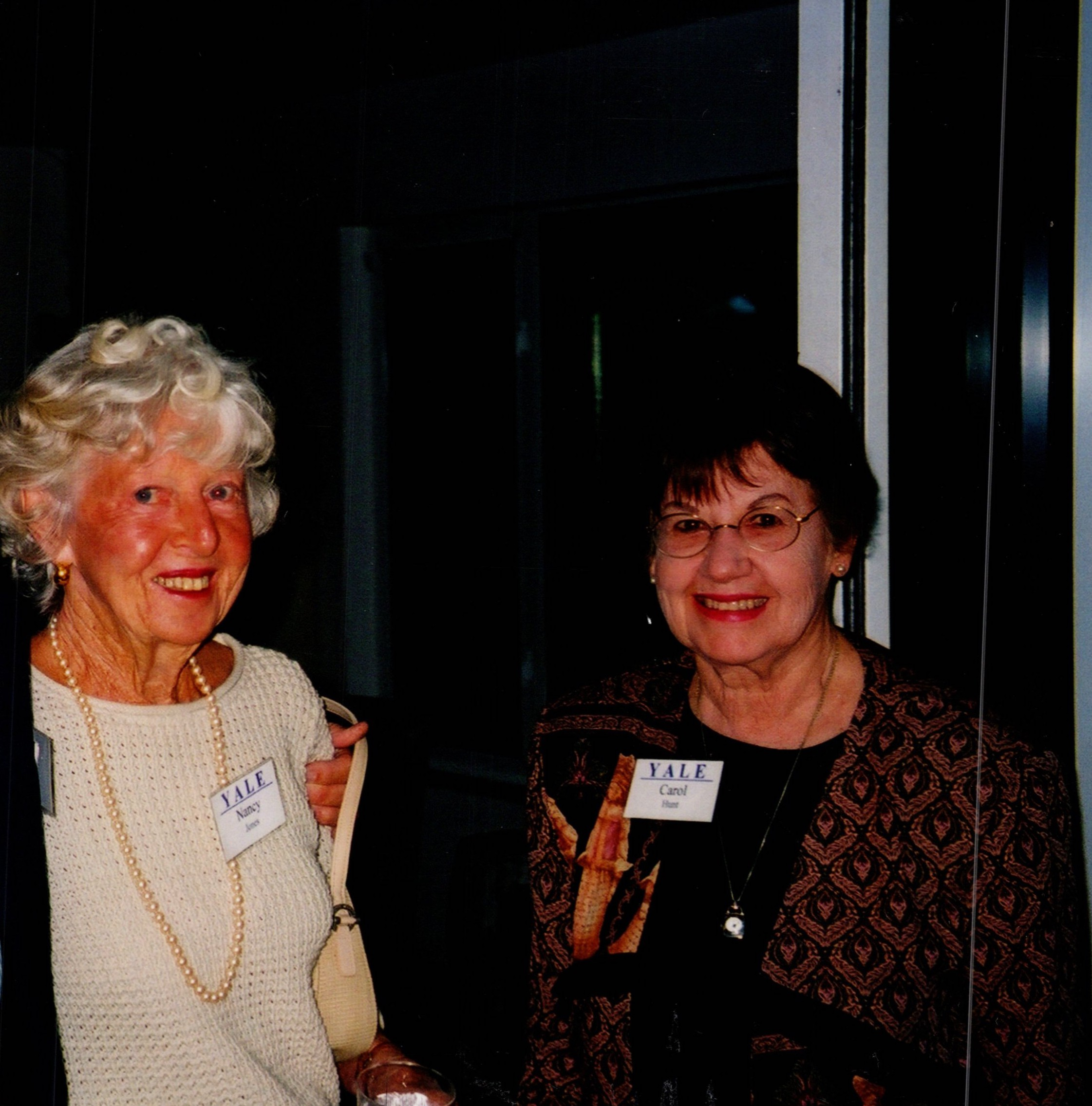 NANCY JONES AND CAROL HUNT