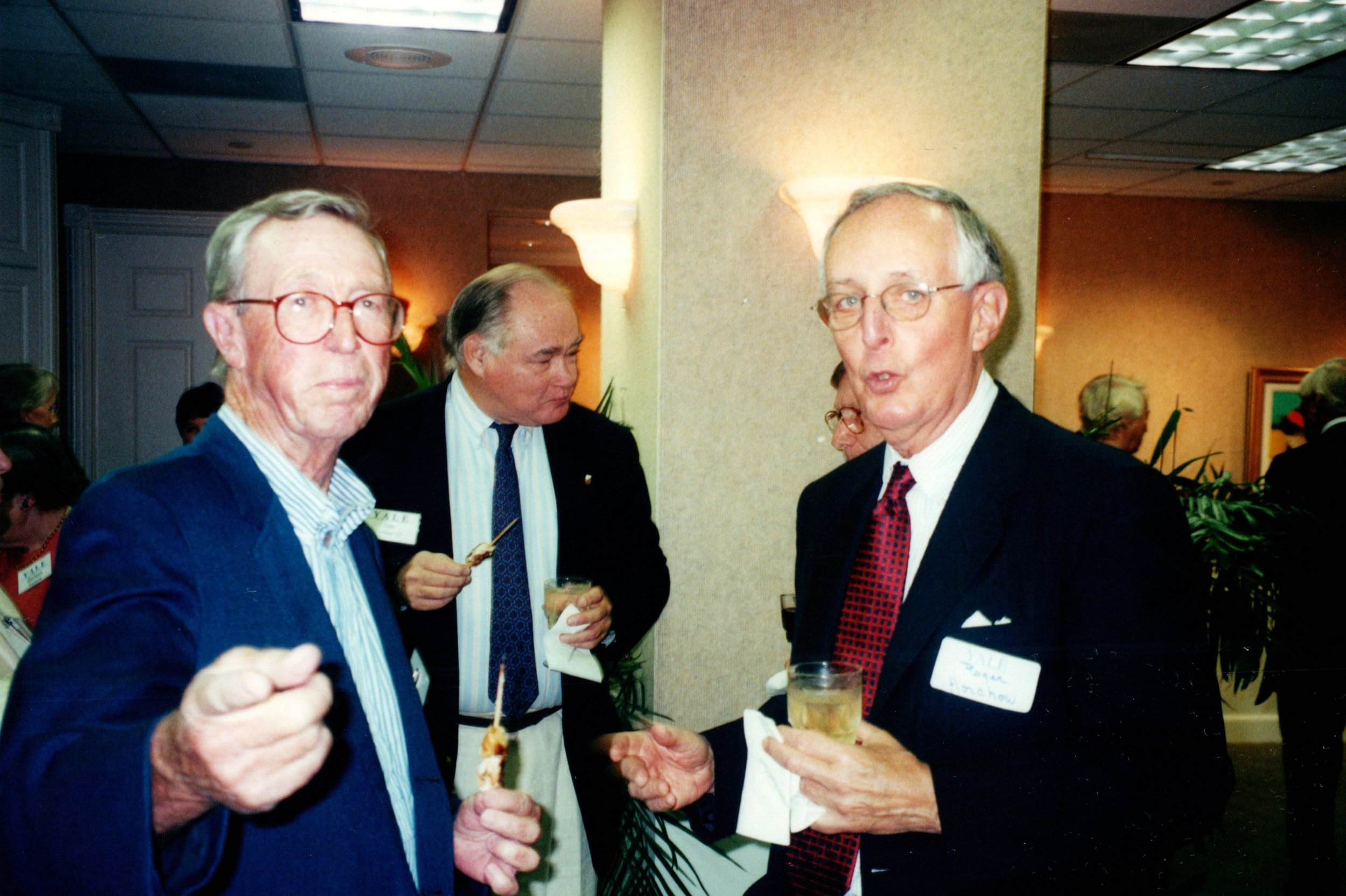 PETE BROADBENT, JIM CARTHAUS, ROGER HORCHOW