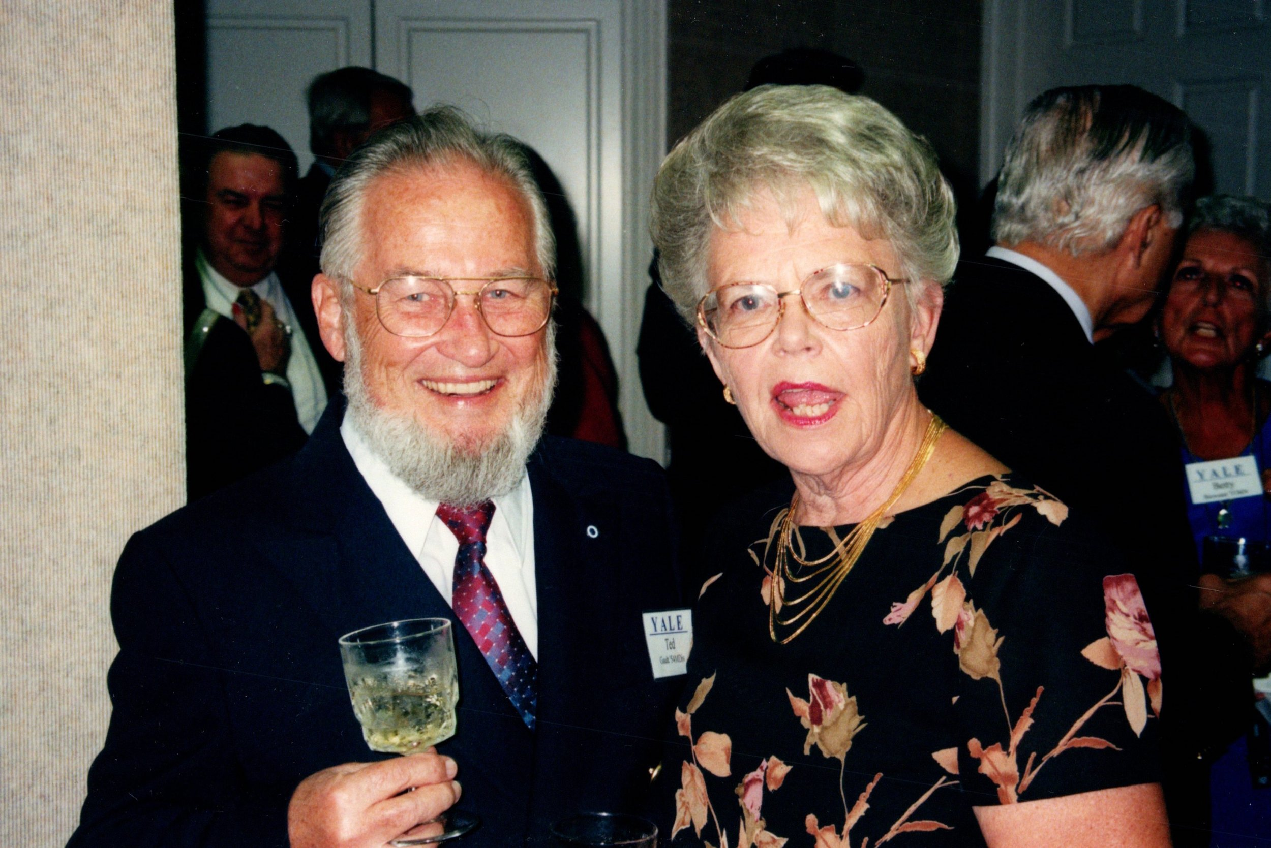 CAROL AND TED GAULT '54MDIV