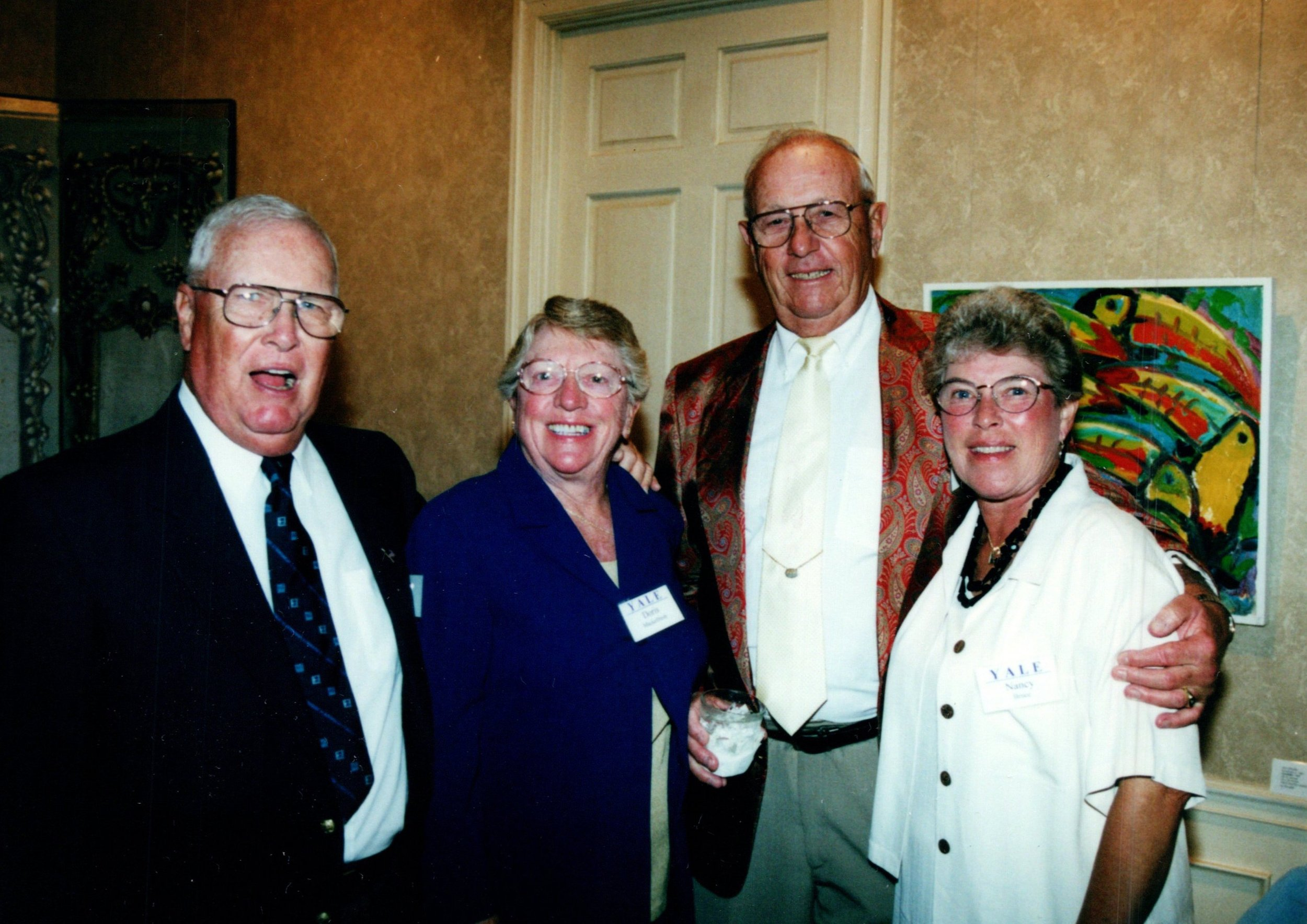 DORIS AND TOM MACKELFRESH '51, NANCY AND KEN BRUCE '53E