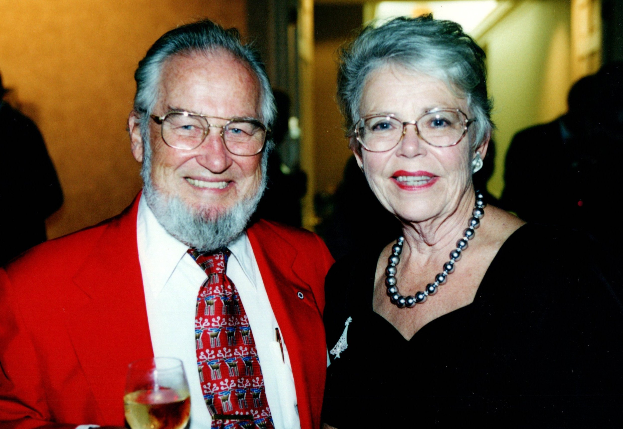 CAROL AND TED GAULT '54MDIV
