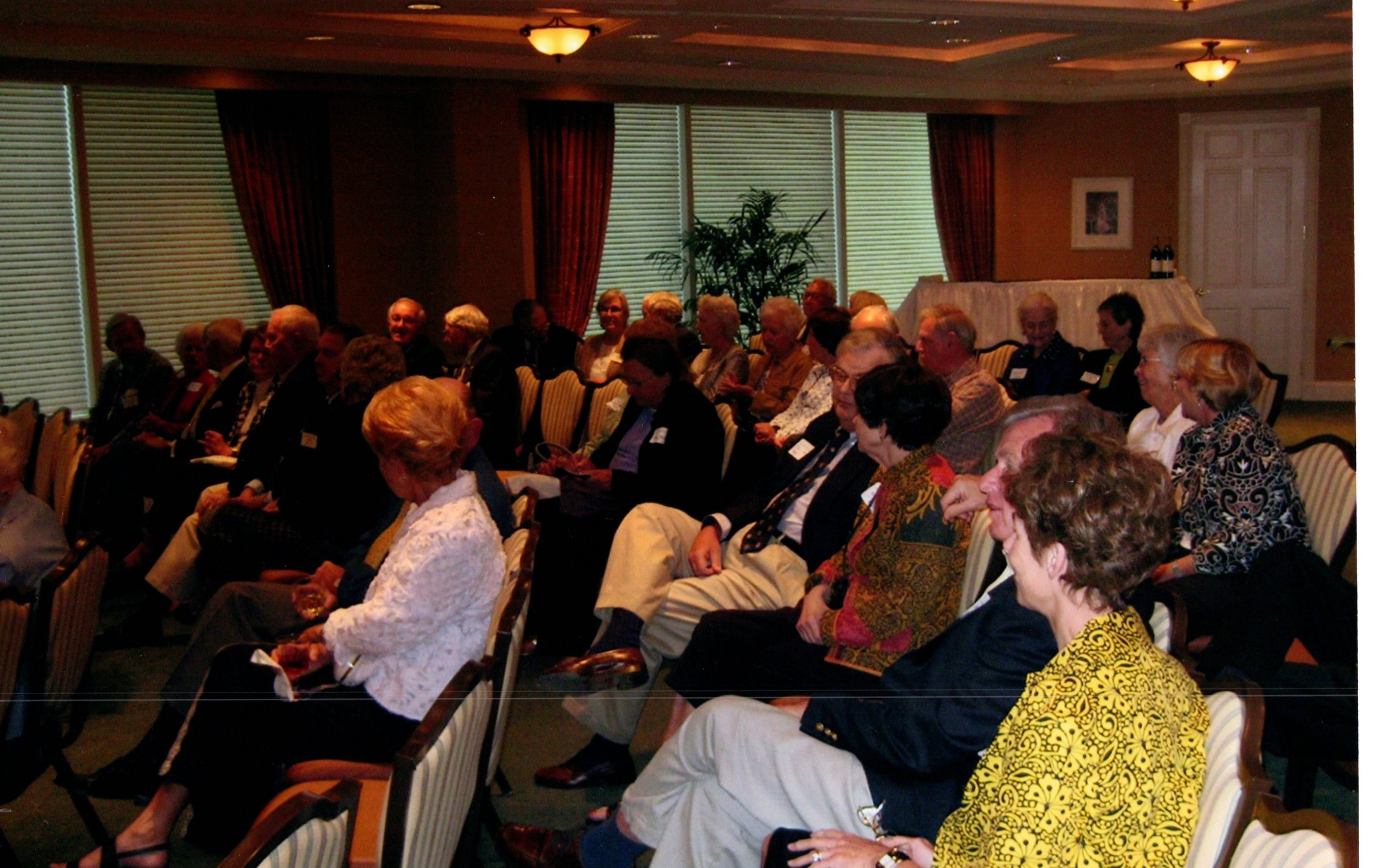 1_25_2009 - LECTURE BY DR. IAN SHAPIRO - NORTHERN TRUST CO. 4.jpg