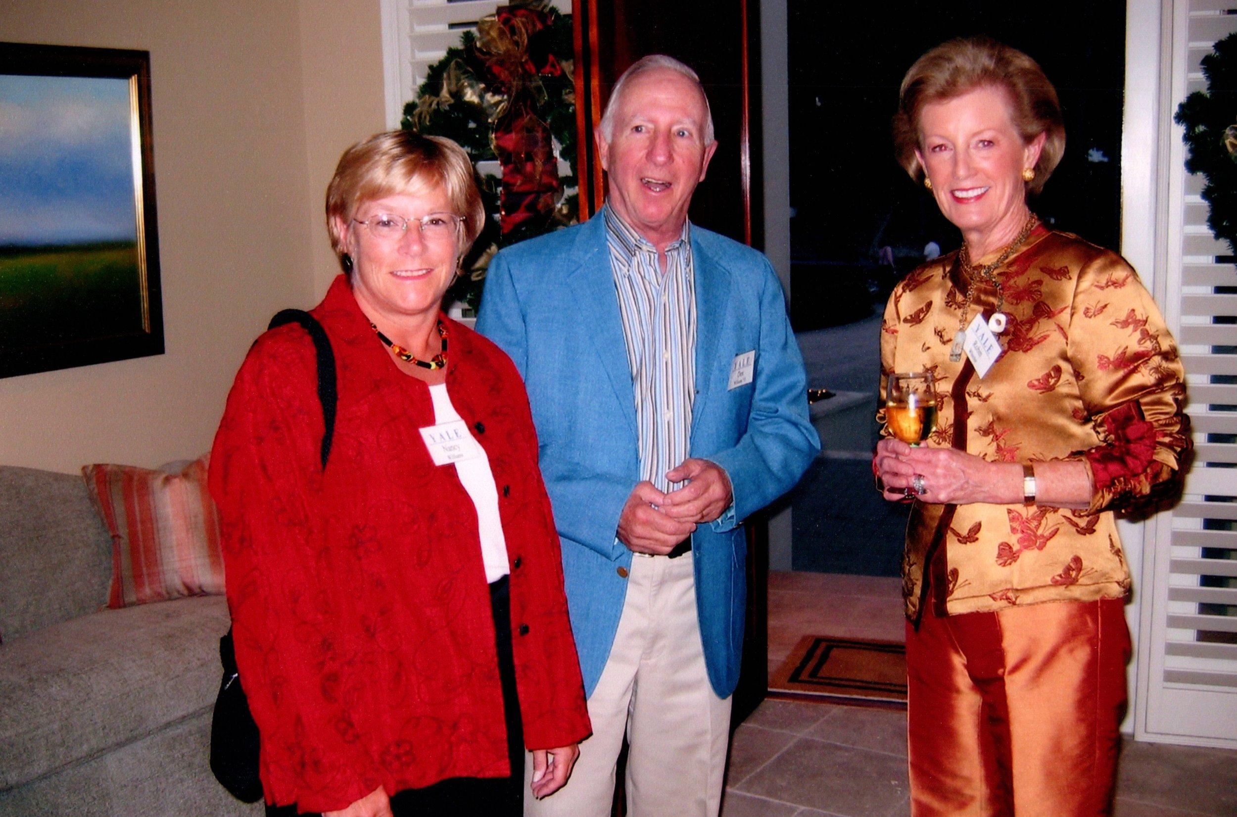 DON AND NANCY WILLIAMS, ROBIN WHEELER