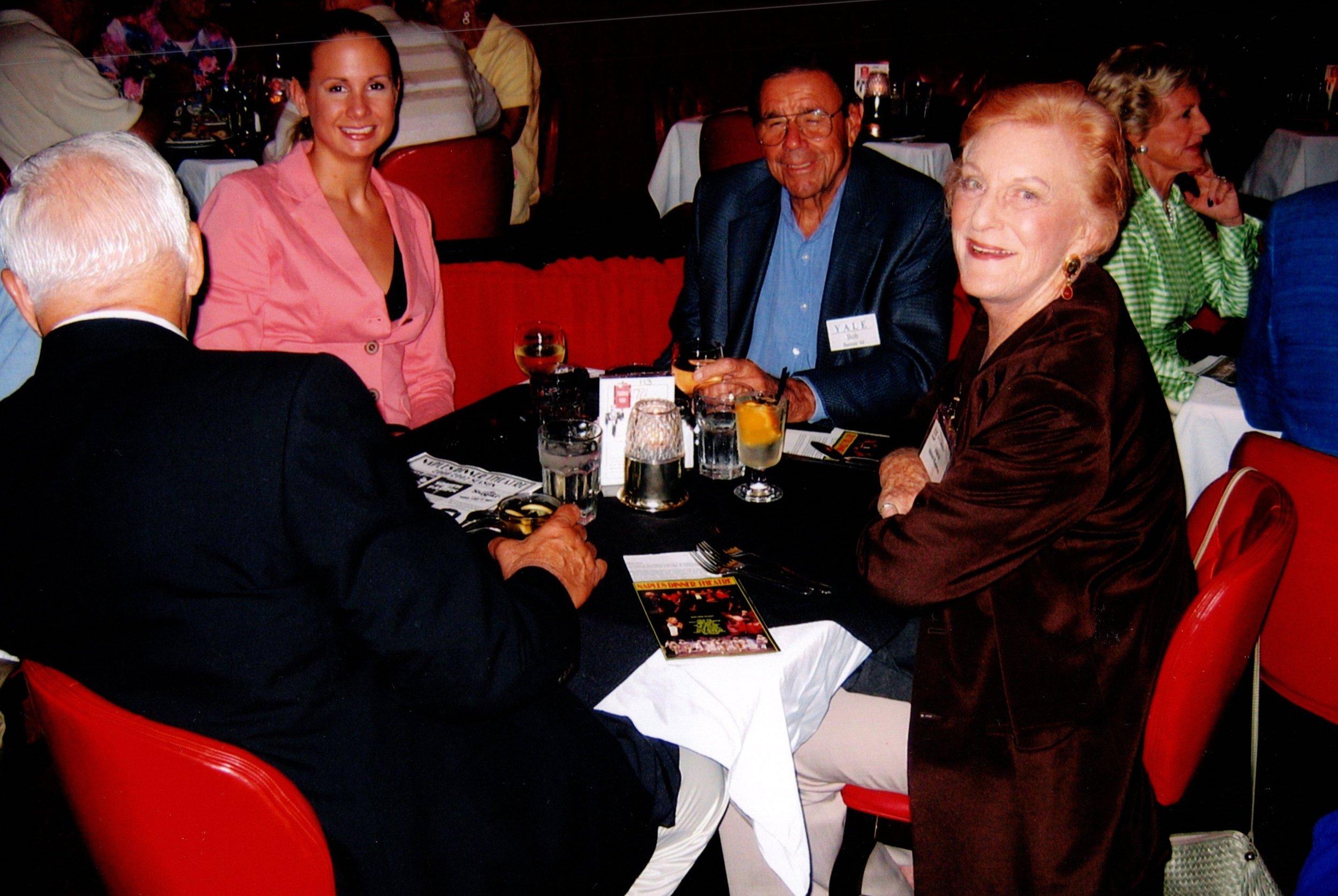 BOB BENNETT WITH FRIEND, PETER AND HELEN KAPETON