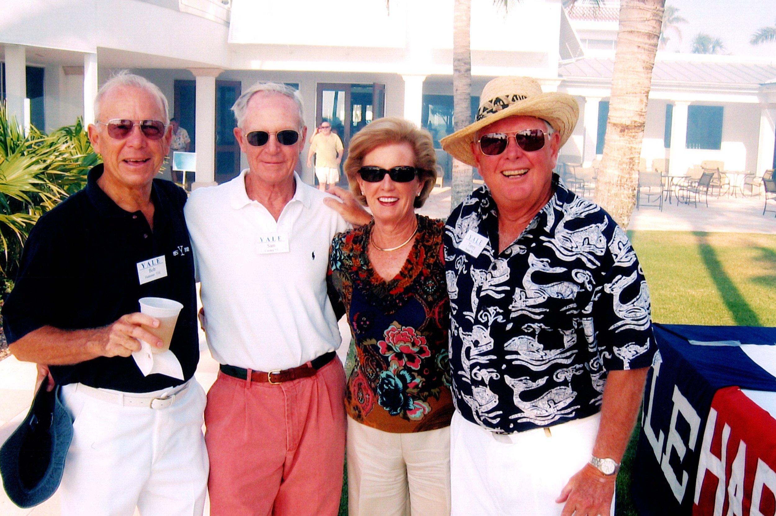 BOB HATTEMER, SAM COOLEY, ROBIN WHEELER, TORREY FOSTER