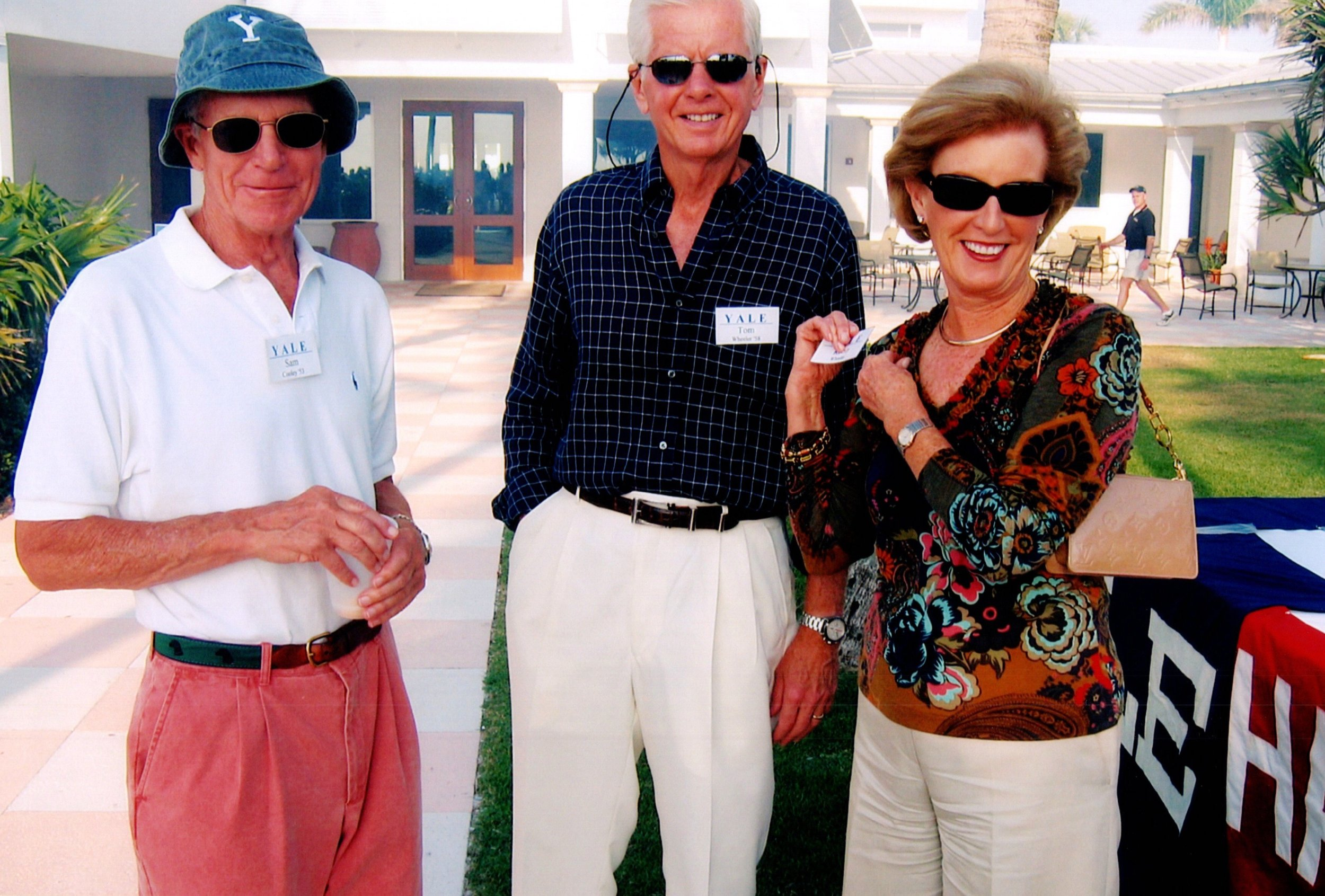SAM COOLEY, TOM AND ROBIN WHEELER