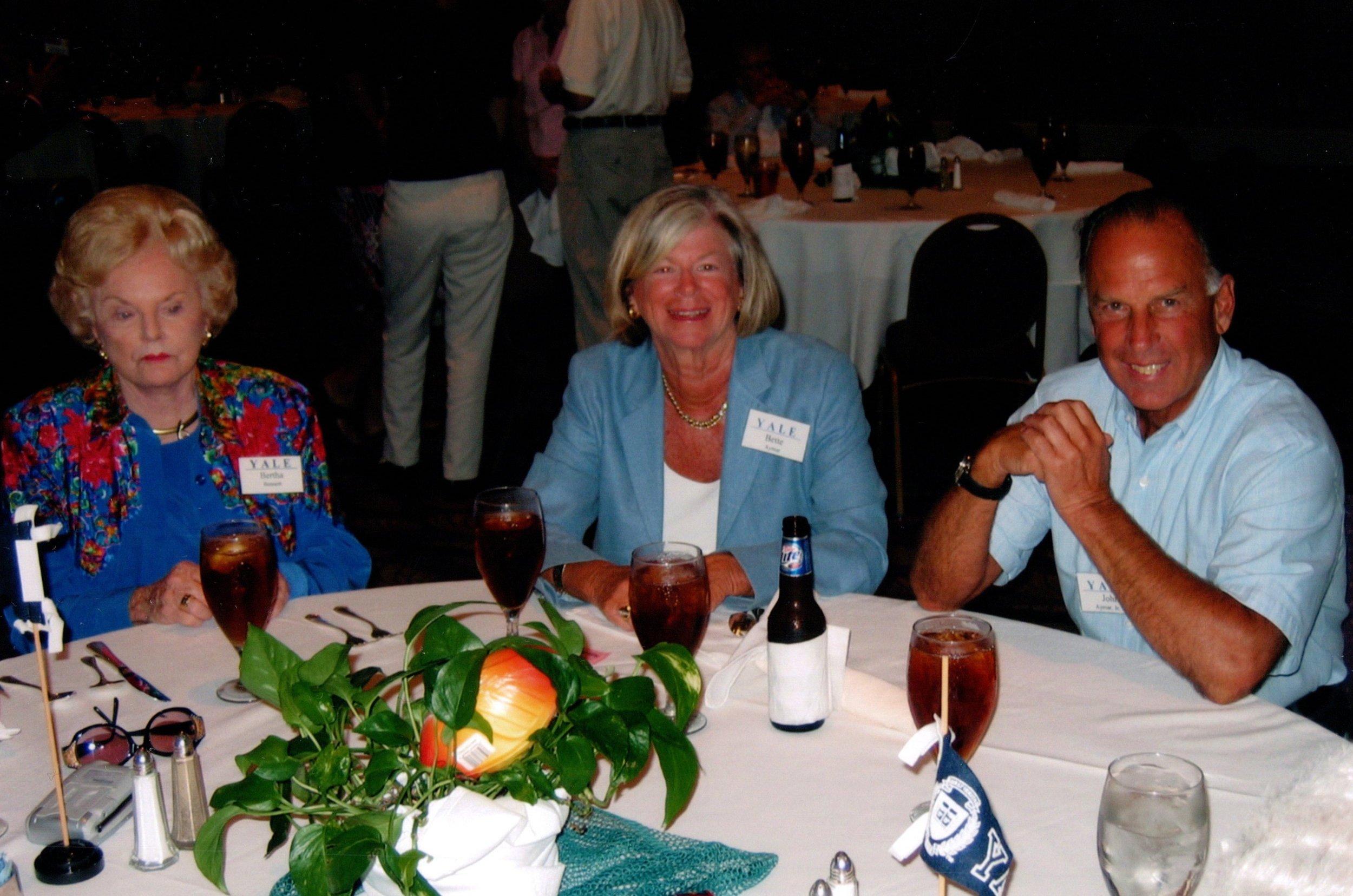 BERTHA BENNETT, BETTE AND JOHN AYMAR