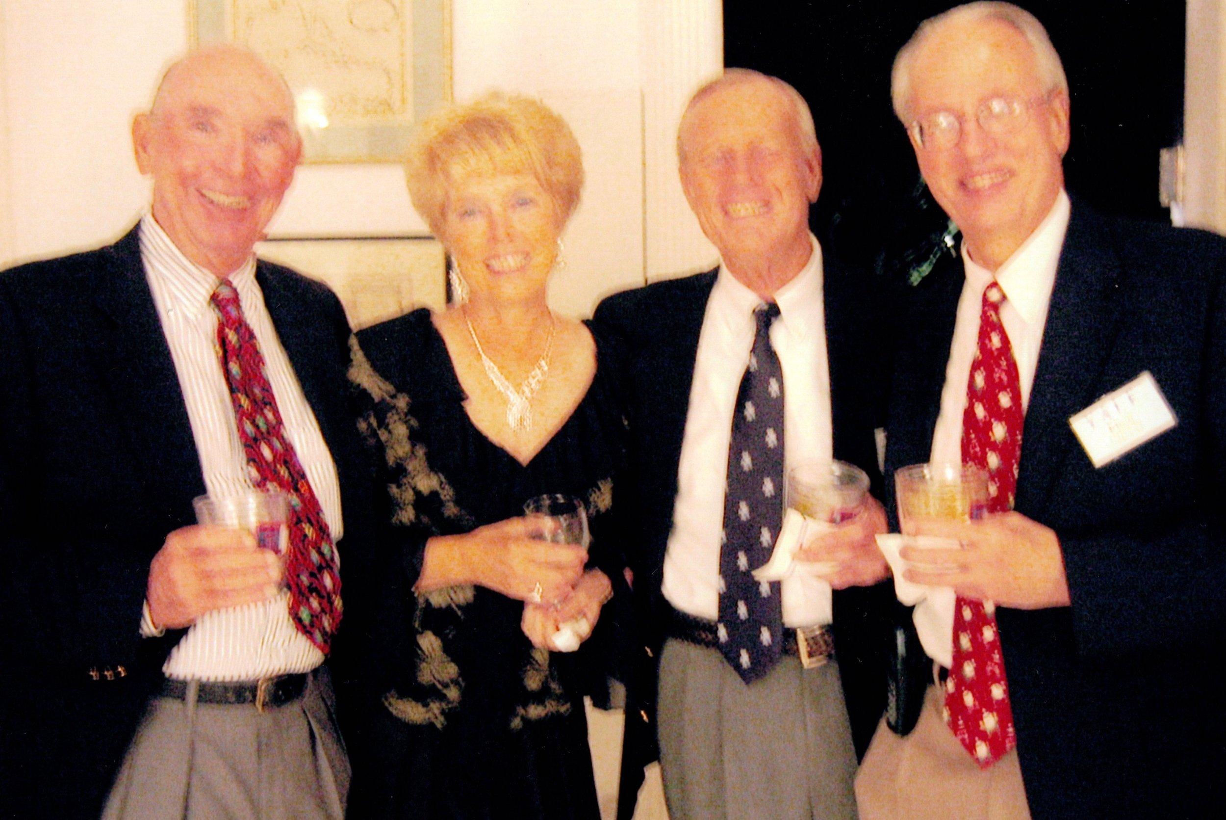 JAY AND JEANNE GELINAS, TERRY UPSON, ELTON LEHEUR