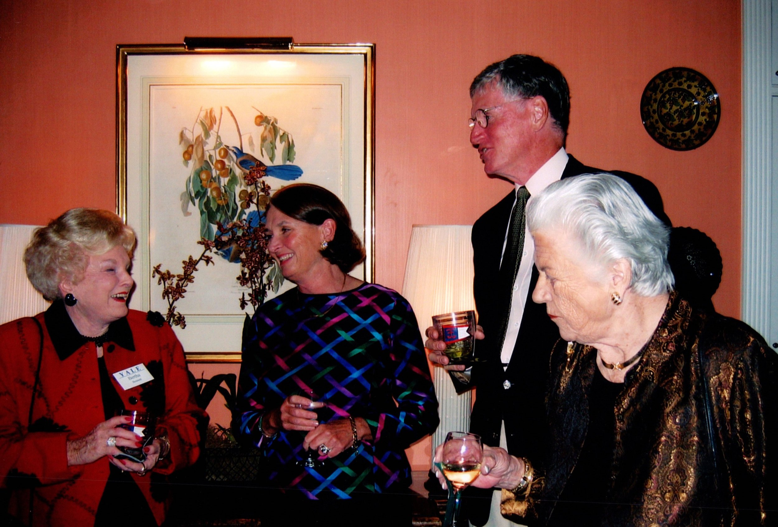 BERTHA BENNETT, SALLY AND TOM MELVIN